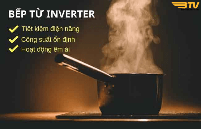 công nghệ inverter bếp từ Sevilla