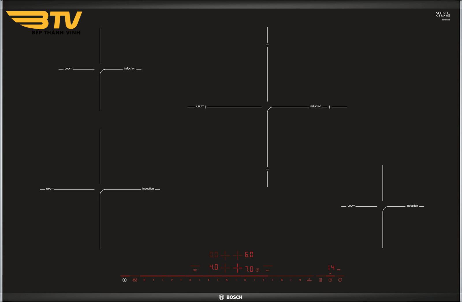 Serie | 8 Bếp Từ Bosch PIE875DC1E 4