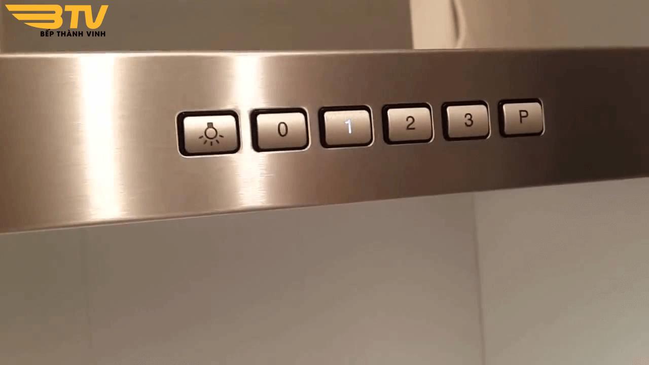 bảng điều khiển máy hút mùi Bosch DWB067A50