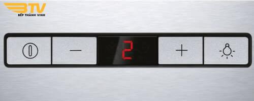 Bảng điều khiển Máy hút mùi Bosch DWB098E51