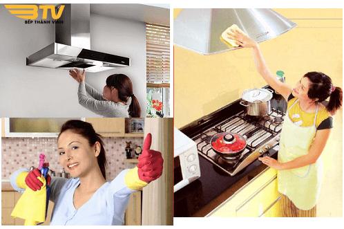 Mẹo vệ sinh Máy hút mùi Bosch DWB098E51